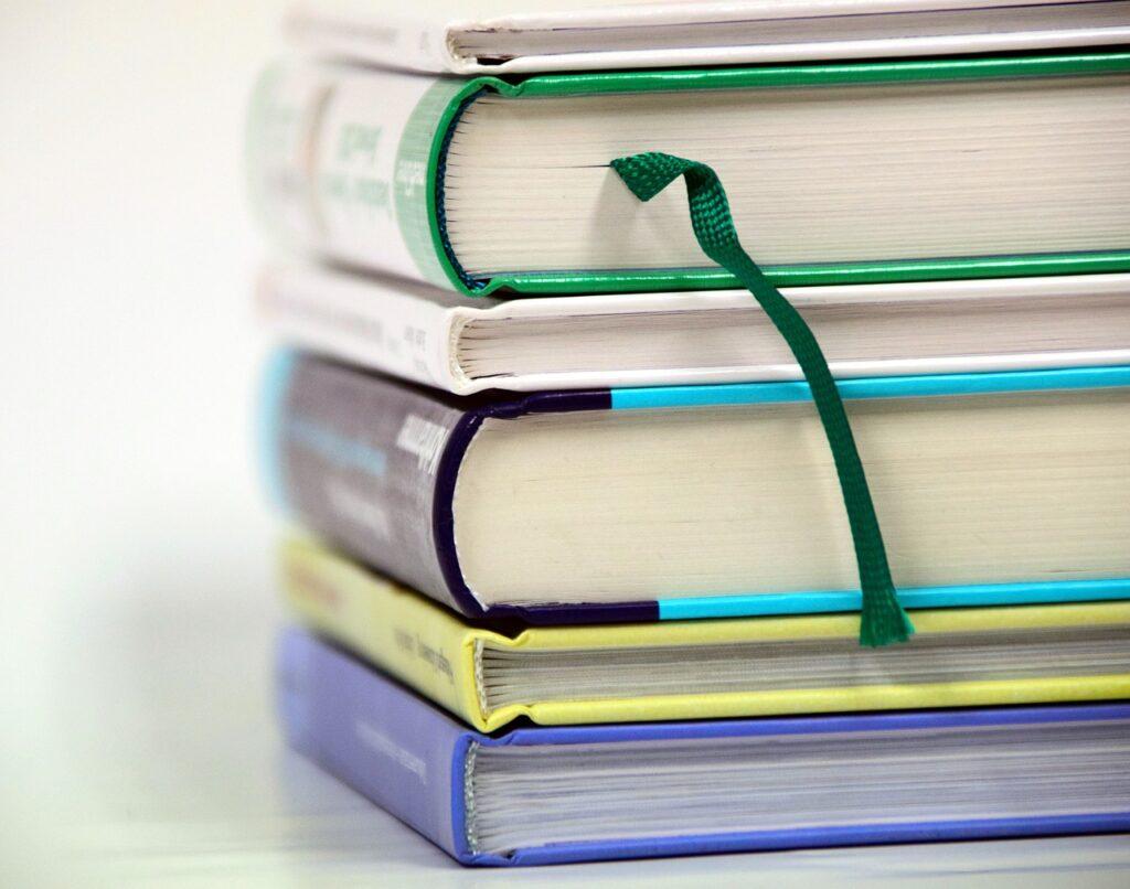 books, stack, book stack